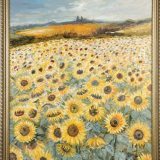 Sunflowers-Oil-painting